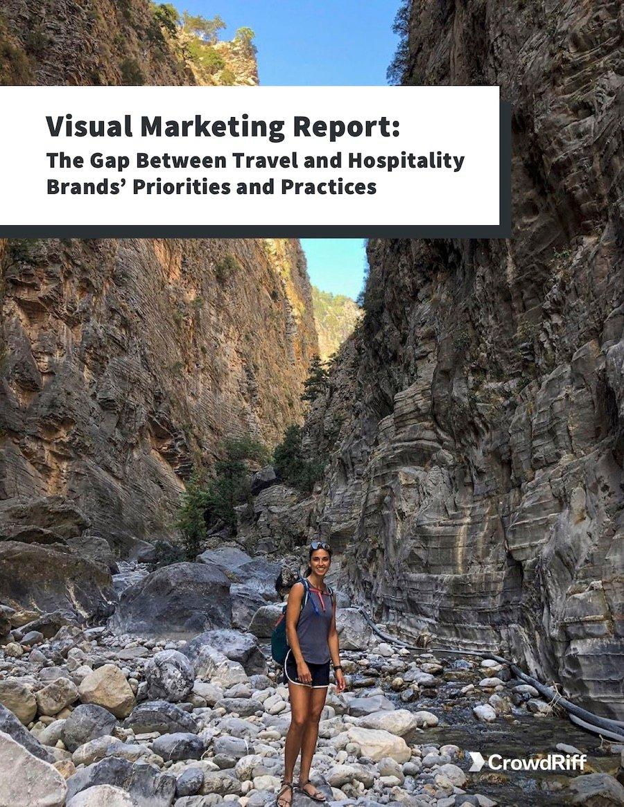 Visual Marketing Report Cover